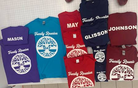 Custom T Shirts for the Family